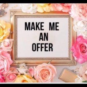 Make me a offer !!